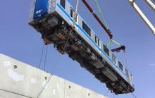 Hình ảnh đầu tiên 2 đoàn tàu metro số 1 về cảng TP HCM