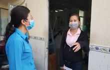 Động viên công nhân ở trọ bị ảnh hưởng bởi dịch Covid-19