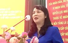 Bí thư Quận ủy quận 1 Trần Kim Yến hứa sẽ đeo bám những khiếu nại của cử tri