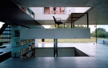Ngôi nhà có sàn chạy được từ tầng 1 lên tầng 3
