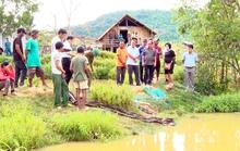 Tắm ở hồ cá nhà ông ngoại, 3 trẻ đuối nước thương tâm