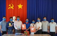 Báo Người Lao Động khảo sát đặt cột cờ biên giới ở Tây Ninh