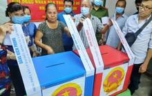 TP HCM đang  kiểm phiếu bầu cử đại biểu Quốc hội, đại biểu HĐND