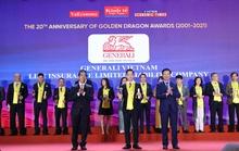 Generali Việt Nam nhận giải thưởng Rồng Vàng 2021
