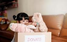 Quyên góp và bài học về sự tử tế cho con