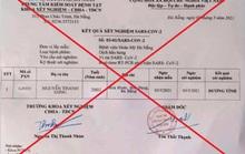 Triệu tập đối tượng làm giả giấy xét nghiệm dương tính Covid-19 tại Đà Nẵng