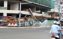 Phú Yên: Rơi cần cẩu công trình dài hơn 20m, nặng hàng tấn từ độ cao hơn 50m