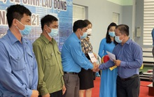 Báo Người Lao Động hỗ trợ công nhân bị tai nạn lao động ở Khánh Hòa