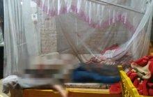 Chồng ra khỏi nhà với vết máu trên người, vợ chết trên giường