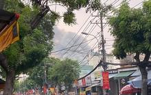 Clip: Phim trường Sao Nam Việt bốc cháy sau một tiếng nổ lớn