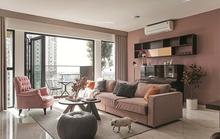Sắc hồng lãng mạn của căn hộ 170m2