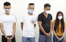 Nhóm nam nữ thuê phòng nghỉ bay lắc, đang phê thì bị bắt quả tang