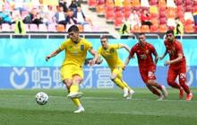 Ukraine có 3 điểm thót tim trước Bắc Macedonia