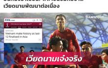 Báo Thái Lan khen ngợi thành tích của tuyển Việt Nam