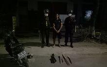 Quảng Ngãi: Ngăn chặn nhóm thanh niên mang súng và dao đi gây án