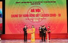Chung tay cùng Hà Nội đẩy lùi Covid-19, Tập đoàn Sun Group ủng hộ 55 tỉ đồng mua vắc-xin