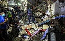 Tiếng nổ lớn xé toạc nhà 3 tầng ở Bangladesh, gần 60 người thương vong