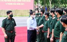 Thủ tướng: Quân đội chủ động tham mưu chiến lược, không để bị động, bất ngờ