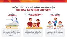 Phụ huynh Việt tự tin dạy con về tiền
