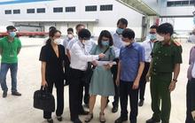 Chủ tịch Bắc Giang thị sát hoạt động sản xuất trong khu công nghiệp