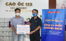Vinamit và Acecook chung tay cùng chương trình Thực phẩm miễn phí cho người nghèo
