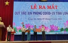 Trần Anh Group ủng hộ 10.000 liều vắc-xin vào Quỹ Vắc-xin phòng, chống Covid-19 tỉnh Long An