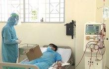 Chạy thận cho bệnh nhân đang cách ly