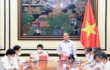 Chủ tịch nước chủ trì họp về chiến lược xây dựng và hoàn thiện Nhà nước pháp quyền XHCN