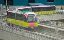 CLIP: Chạy thử nghiệm 8,5 km trên tuyến đường sắt Nhổn - ga Hà Nội