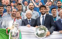 Ngày về vinh quy bái tổ của tuyển Ý sau chức vô địch Euro 2020