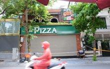 Cận cảnh phong toả quán Pizza có ca F0 phức tạp là đầu bếp kiêm shipper