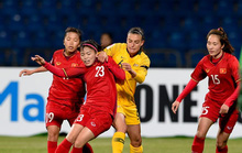 Bóng đá nữ Việt Nam quyết giành suất dự VCK World Cup