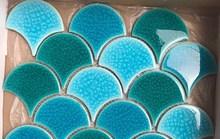 Ứng dụng của gạch vảy cá trong trang trí nội ngoại thất