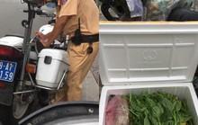 Đội CSGT Bàn Cờ nói gì về clip đến bến xe nhận thực phẩm bị CSGT xử phạt gây bão mạng xã hội?