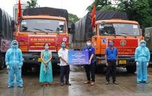 Nông sản từ Lâm Đồng đi xuyên đêm về tặng người dân TP HCM