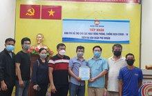 Tạp chí Tri thức Xanh tặng hàng nông sản cho tuyến đầu chống dịch Covid-19