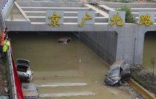 Bi kịch bên trong đường hầm Trung Quốc bị mưa lũ nhấn chìm