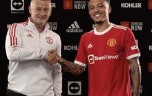 """Jadon Sancho không tranh số áo """"khủng"""" với đàn anh Cavani ở Man United"""