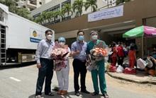 Chùm ảnh gửi từ Bệnh viện Dã chiến số 7: Dấu mốc đặc biệt của TP HCM
