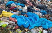 Phạt xe chở rác trộn chung đồ chống dịch với rác sinh hoạt tại bãi rác Khánh Sơn