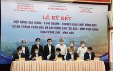 Ký hợp đồng xây dựng cao tốc Bắc - Nam phía Đông đoạn Cam Lâm – Vĩnh Hảo