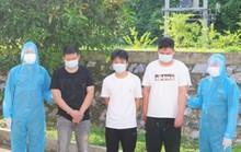 Bắt xe ôtô chở 3 người Trung Quốc vượt biên trái phép vào Thanh Hóa