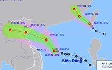 Hai áp thấp nhiệt đới trên Biển Đông, sắp có cơn bão số 3