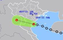 Áp thấp nhiệt đới đổ bộ, miền Bắc mưa lớn