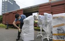 Thiết bị y tế hiện đại trang bị cho 100 giường hồi sức từ Hà Nội vào TP HCM