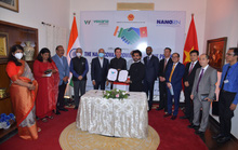 Nanogen bắt tay doanh nghiệp dược Ấn Độ sản xuất, phân phối Nanocovax