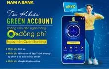 Nam A Bank miễn hàng loạt phí dịch vụ khi đăng ký tài khoản Green Account