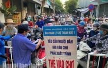 Đà Nẵng: Người dân lại đổ xô đến chợ mua đồ tích trữ