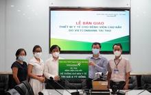 Vietcombank tặng thiết bị y tế trị giá 9 tỉ đồng cho 2 bệnh viện