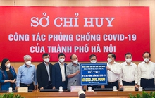 Techcombank trao tặng 15 tỉ đồng hỗ trợ Hà Nội chống dịch